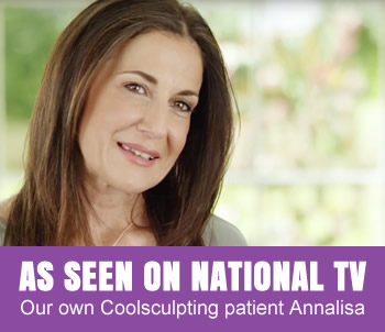 Our very own CoolSculpting patient Annalisa