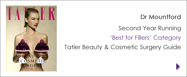 Best for fillers 2nd year running Tatler Magazine
