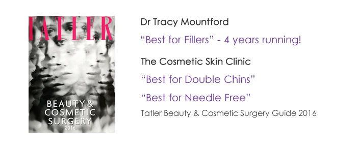 Best for fillers and BOTOX Tatler Magazine 2016