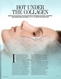 Hot Under The Collagen article