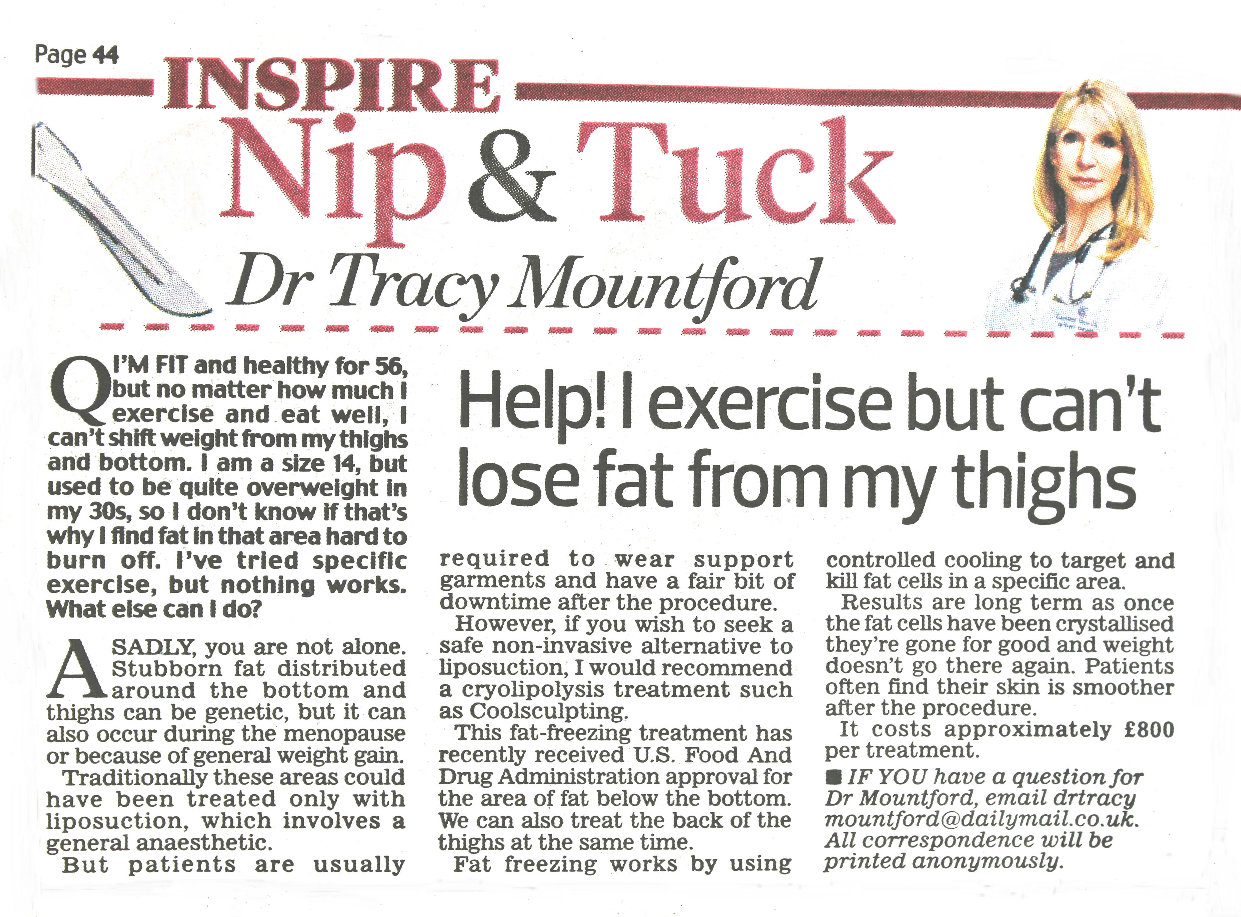 daily-mail-nip-and-tuck-17-October-2016-dr-tracy-mountford-non-surgical cosmetic treatments