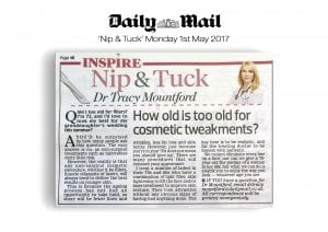 A Daily Mail reader asks if she is too old for cosmetic treatments