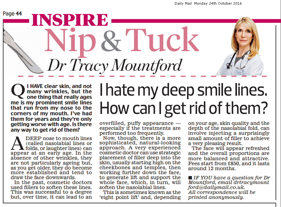 daily-mail-nip-and-tuck-24-October-2016-dr-tracy-mountford-non-surgical cosmetic treatments