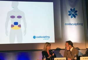 Dr Tracy Mountford & Dr Steven Dayan at CoolSculpting presentation