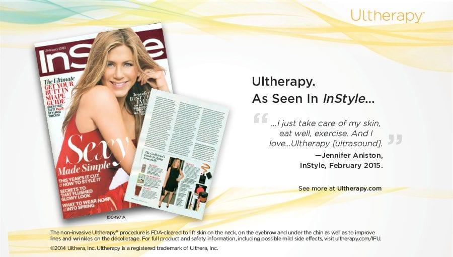 Jennifer Aniston Friends Ultherapy