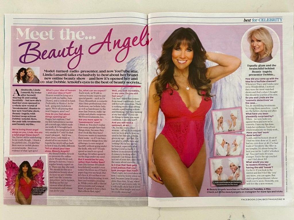 Linda Lusardi Beauty Angels