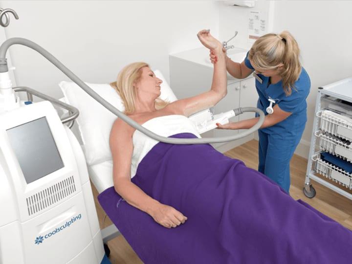 Fat Freezing Arm Fat - Non Invasive Fat Freezing Vs Liposuction