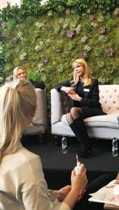 Dr Mountford of The Cosmetic Skin Clinic at the Brides Show 2016 - Q & A session with Oliva Falcon and brides to be