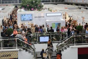 Dr Mountford of The Cosmetic Skin Clinic at the Brides Show 2016