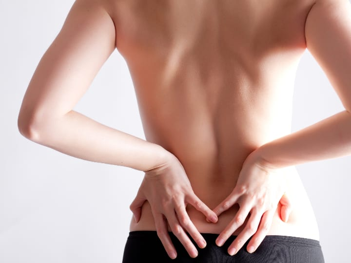 Treating back fat with CoolSculpting