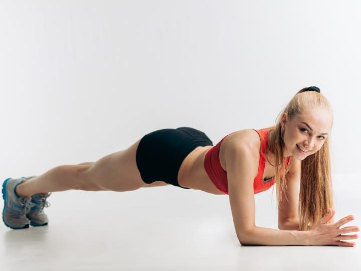 Women's muscle building training plan